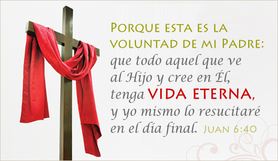 Juan 6:40 Tarjeta